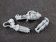40K Astra Militarum / Imperial Guard Sentinel : Catachan Heavy Flamer + Chainsaw