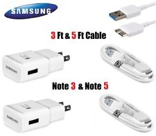 Original Samsung Galaxy Note 3 S5 OEM Adaptive Fast Rapid Charger USB 3.0 Cables