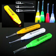 Ear Pick Earwax Removal Cleaner Curette With LED Flashlight Light Random Color
