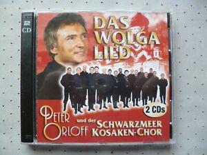 Doppel-CD - PETER ORLOFF & DER SCHWARZMEER KOSAKEN-CHOR - DAS WOLGA LIED