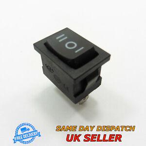AC 6A 250V 10A 125V ON/OFF Rocker Switch Rectangle SPDT Plastic KCD1-103
