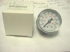 "Pressure Gauge 1-5/8"",0-300 Psi bronze brass  WATER OIL AIR HYD HYDRAULIC 1/8"""
