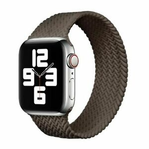 Braided Silicone Band Strap iWatch SE 6 5 4 for Apple Watch Series 38/40/42/44mm