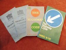 The Highway Code X4 1935 x2 1954 & 1968    C