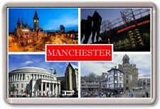 FRIDGE MAGNET - MANCHESTER - Large - Lancashire TOURIST