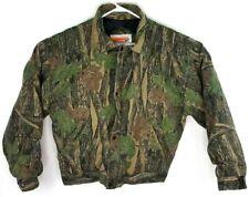 Winchester Men's Jacket Camo Sz L Camouflage Fleece Lined Hunting Jacket