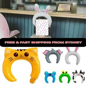 Animal Head Band Foil Balloons Party Birthday Easter Children Adult Kids Baby GI