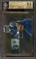 2015 panini clear vision gold #5 TOD GURLEY rams rookie BGS 9.5 (9 9.5 9.5 9.5)