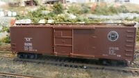 Train Miniature HO Southern Pacific 40' DS Wood Boxcar, Upgraded,  Ex