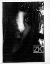LUCIEN CLERGUE Visage Cheveux Gros plan Oeil Femme Portrait Photo 1976 #2