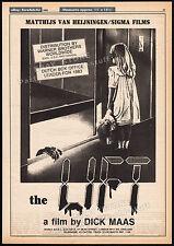 THE LIFT__Original 1983 Trade print AD / poster__DICK MAAS_Willeke van Ammelrooy