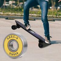 8 Pcs Skateboard shoes Bearing Skate Roller Ball Bearings Kit Scooter Wheels