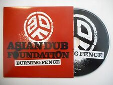 ASIAN DUB FOUNDATION : BURNING FENCE [ CD SINGLE PORT GRATUIT ]