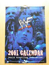 World Wrestling Federation 2001 12-month calendar