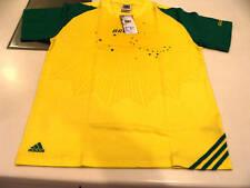Team Brazil 2010 World Cup Soccer T Shirt L Core Fifa