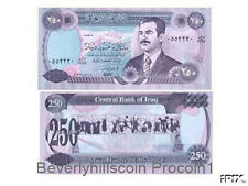 IRAQ 250 Dinar Saddam Hussein 1994 Note P85