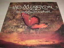"""THE MISSION - BUTTERFLY ON A WHEEL    7"""" VINYL PS"""
