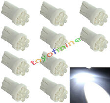10X T10 501 W5W 194 168 Pur ampoule blanche voiture 4 LED Wedge Side Lampe 12V