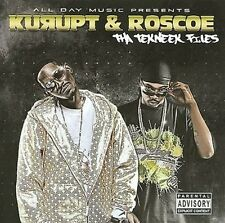 Kurupt & Roscoe Tha Tekneek Files 14 track 2009 cd NEW! the technique files