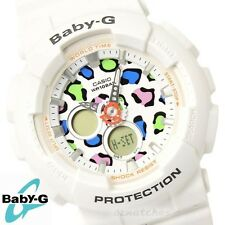 CASIO BABY-G LADIES WATCH BA-120LP-7A1 FREE EXPRESS WHITE LEOPARD BA-120LP-7A1DR