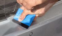 Ladekantenschutz für VW POLO 6R 5Tuerer Schutzfolie Transparent Extra Stark 240µ