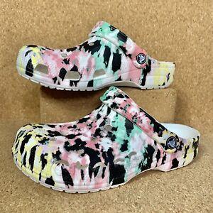 Crocs Classic Baya Seasonal Printed Clog Women's Shoes 206230-928 All Sizes NWOB