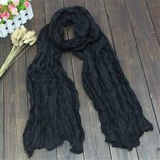 Fashion Long Voile Scarfs Winter Warm Scarf Women Scarf Shawl White