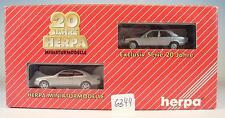 Herpa 1/87 187503 20 Jahre Set Mercedes Benz CLK & Mercedes Benz 190 E OVP #6344