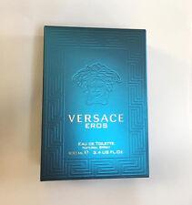 EROS By Versace 3.4OZ Eau de Toilette For Men