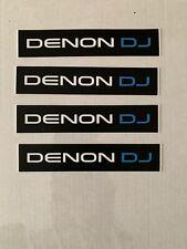 4 X Auto Adhesivo Pegatinas Denon Dj