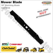 "(1) OEM Cub Cadet Mulching Blade 19"" Decks 942-0739 742-0739"
