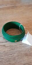 Leather Designer Bracelet by Study O Portable