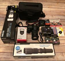 Canon EOS 60D 18MP Digital SLR Camera DSLR - Black w/ 18-135mm Lens Kit Bunble‼️