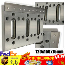 Wire Edm Fixture Board Stainless Jig Tool fit for Clamping & Leveling 120x150mm