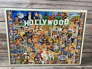 """Hollywood 1000 Piece Jigsaw Puzzle 24"""" X 30"""" by White Mountain"""