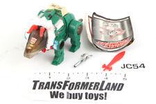 Slag (green) 100% Complete Dinobot G2 Transformers