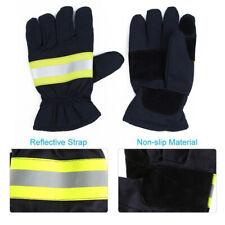 1 Pair Of Non Slip Anti Fire Gloves Heat Proof Firefighting Gloves