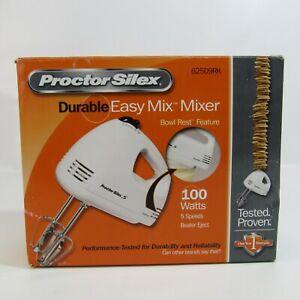 Procter Silex Durable Easy Mix Mixer 100 Watts 5 Speeds 62509RK