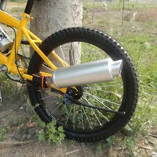 Bike Turbo Pipe Exhaust System Turbospoke Sound Motorcycle Megaphone Motocards