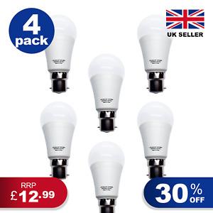 GLOBE GLS LED COOL Light Bulb 4 PACK B22 E27 Energy Saving A+