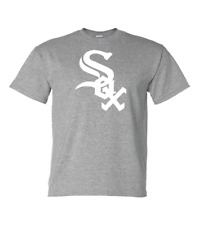 Chicago White Sox just White Logo All T-shirt Colors sizes (S-5XL)