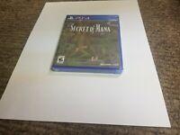 Secret of Mana (Sony PlayStation 4, 2018) new ps4