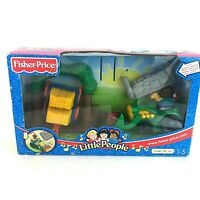 Fisher Price Little People 2002 Cherry Picking Farmland Tractor Playset 1 - 5 Yr
