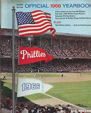 1966 PHILADELPHIA PHILLIES YEARBOOK RICH ALLEN JOHN CALLISON JIM BUNNING PHOTOS