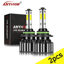 HB3 9005 LED Headlight H10 9145 Foglight Car Bulbs Kit 60W 18000LM 5000K White