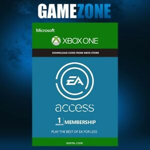 EA Access (EA Play) 1 Month Membership - Xbox One - New USER - Worldwide