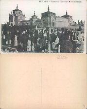 MILANO - INTERNO CIMITERO MONUMENTALE              (rif.fg.11406)