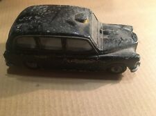 VTG Diecast TOY Car Budgie Model Seener London Taxi Cab England Hackney Carriage