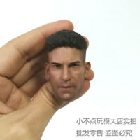 Free Ship 1/6 Scale BD Ver Jon Bernthal Punisher Frank Castle Head Sculpt 2.0
