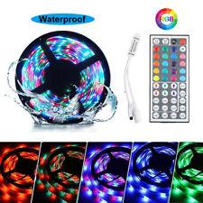 5M 3528 RGB 300 Led SMD Flexible Changing Light Strip Lamp Kit + 44key IR Remote